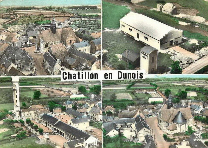 Histoire Des Communes Châtillon En Dunois Crgpg