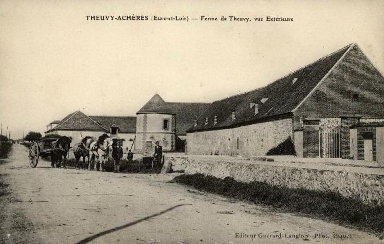 Histoire des communes theuvy ach res crgpg for Garage des communes acheres