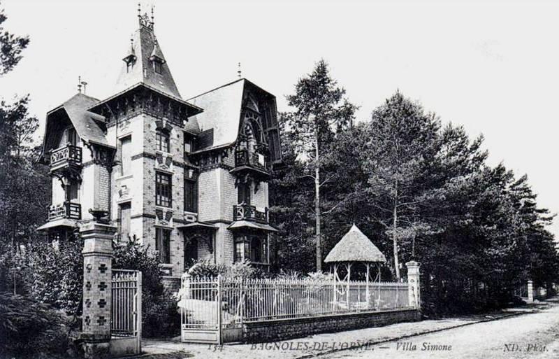 Bagnoles-de-l'Orne : Villa Simone, puis Villa La Tourelle