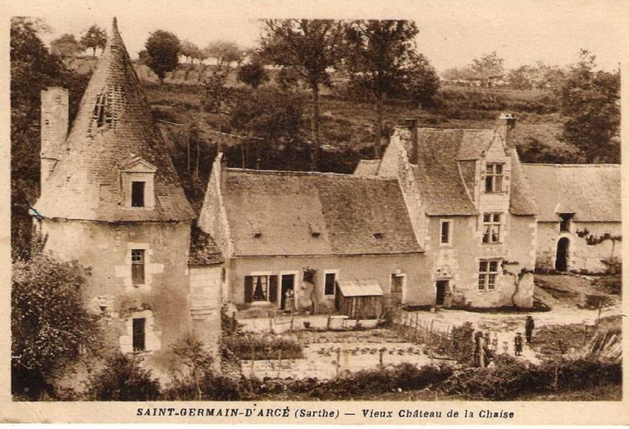 Saint germain d 39 arc ch teau de la chaise crgpg for Chateau de la chaise