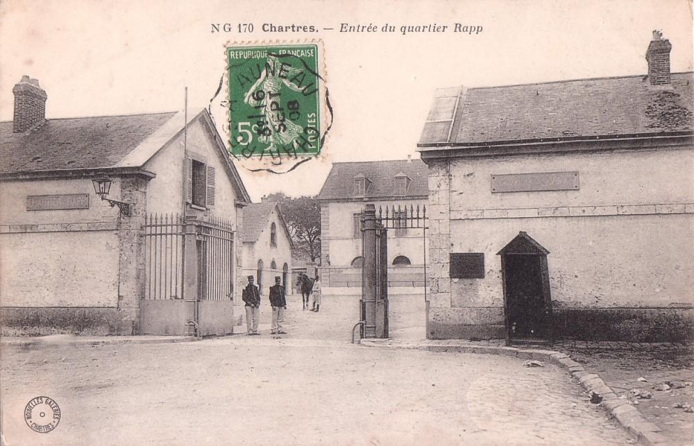 Le quartier Rapp / Quartier de Cavalerie (13° Cuirassier) 6675