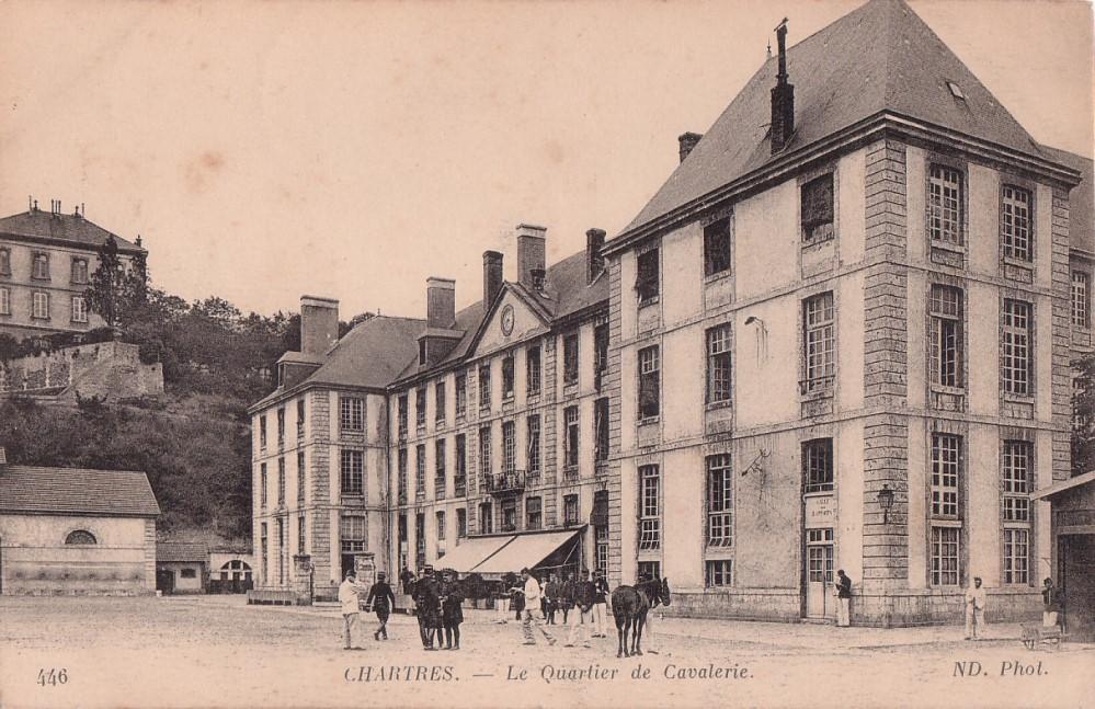 Le quartier Rapp / Quartier de Cavalerie (13° Cuirassier) 6678