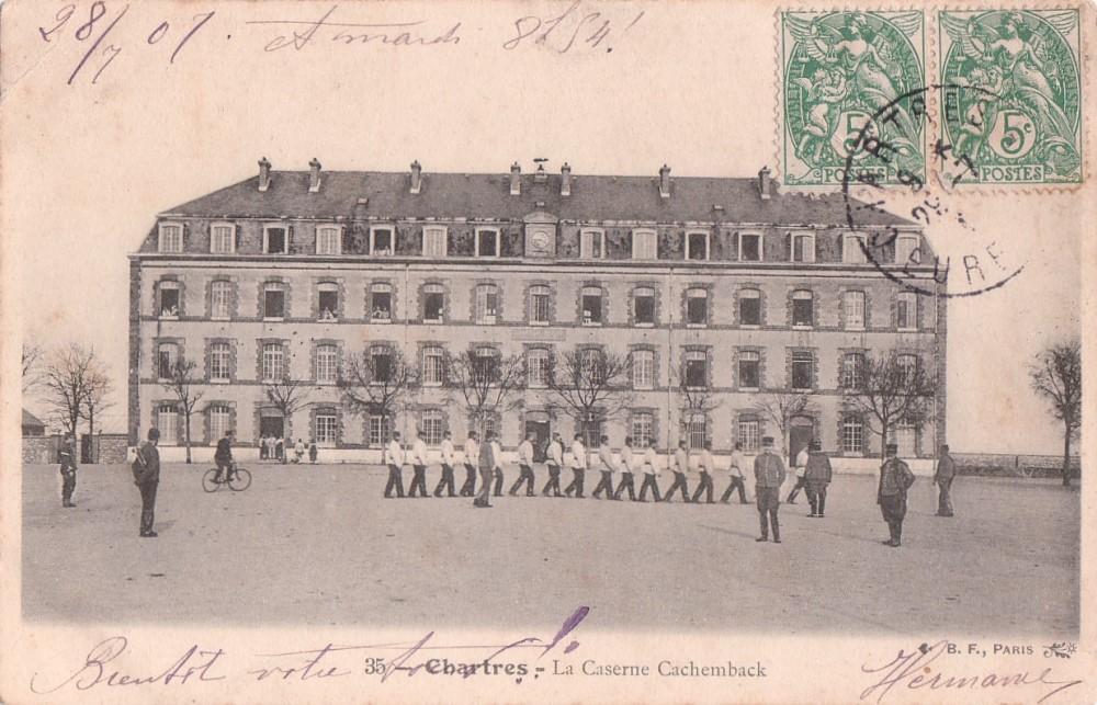 La caserne Cachemback 6841