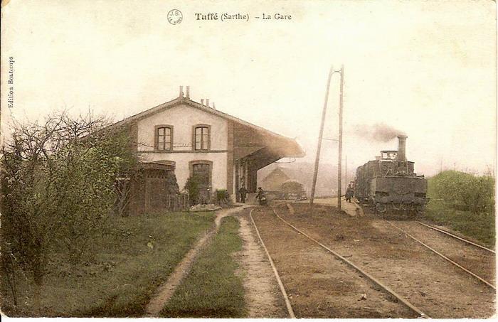 Photos   Gare  Ligne Mamers-st Calais