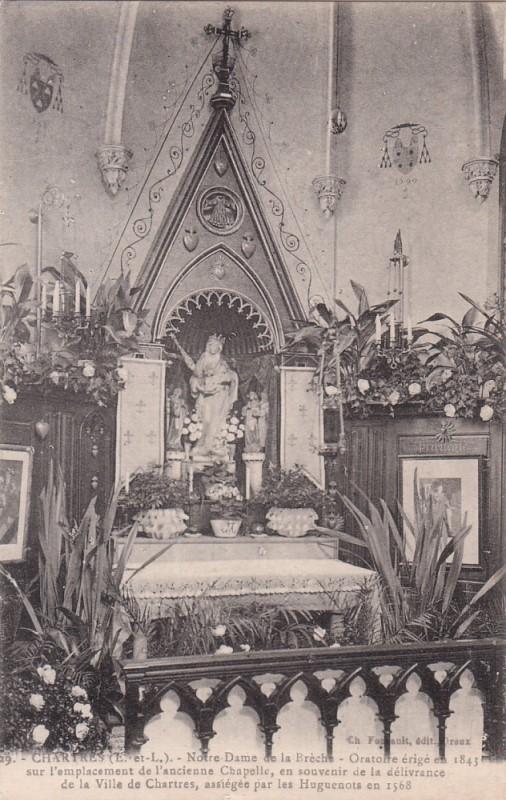 Resultado de imagen para Notre-Dame de la Brèche  chartres