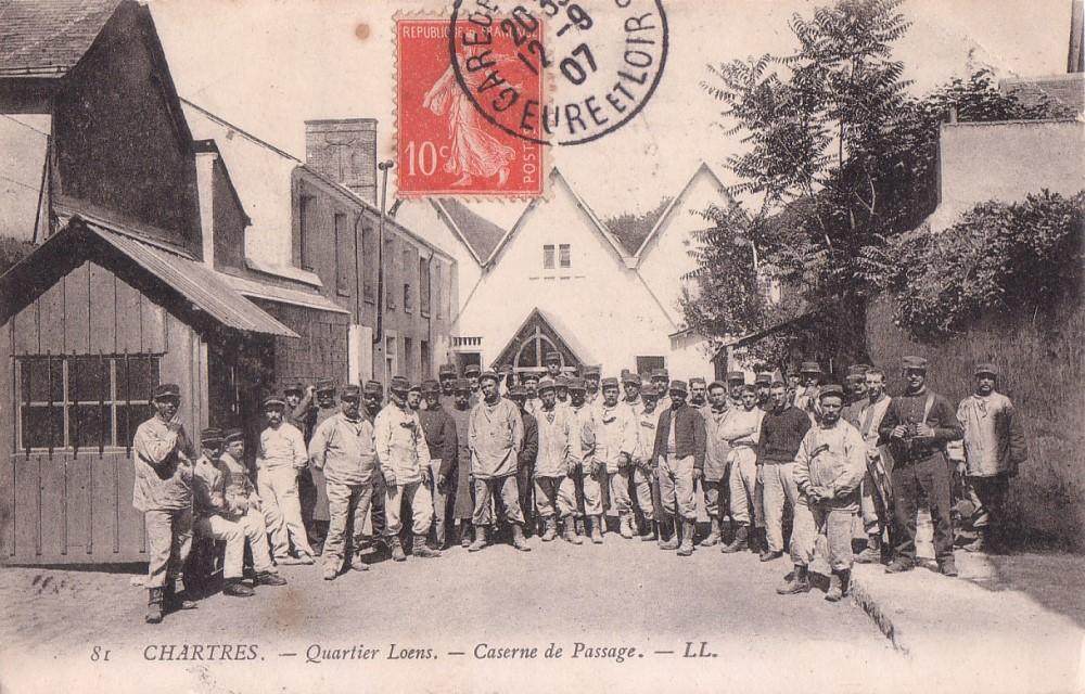 Quartier Loëns - Caserne de Passage 11294