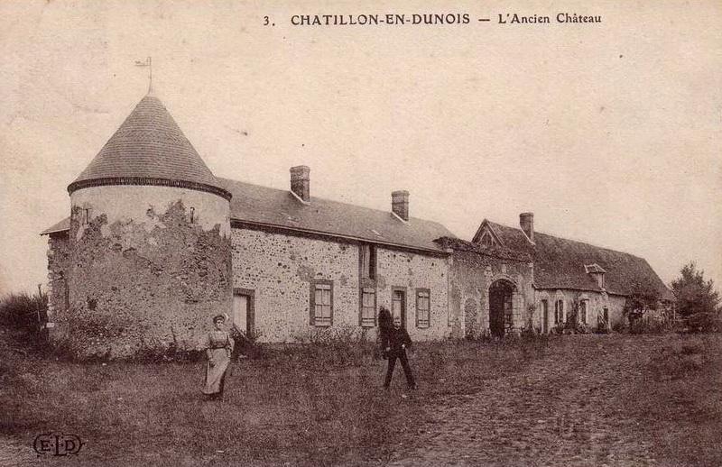 Châtillon En Dunois Château De Chatillon En Dunois Crgpg