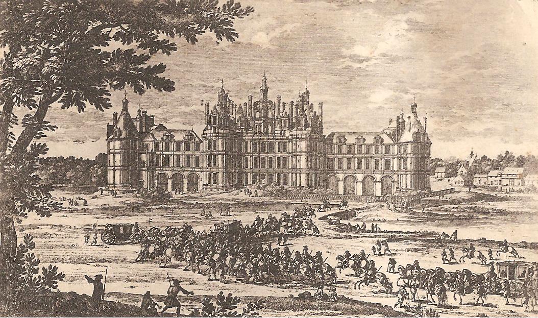 histoire du chateau de chambord