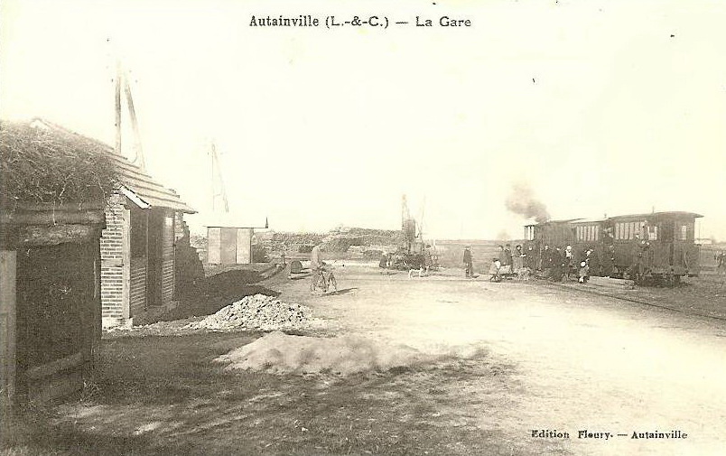 Autainville gare de tramway ligne blois oucques orl ans crgpg - Horaire tram orleans ligne a ...