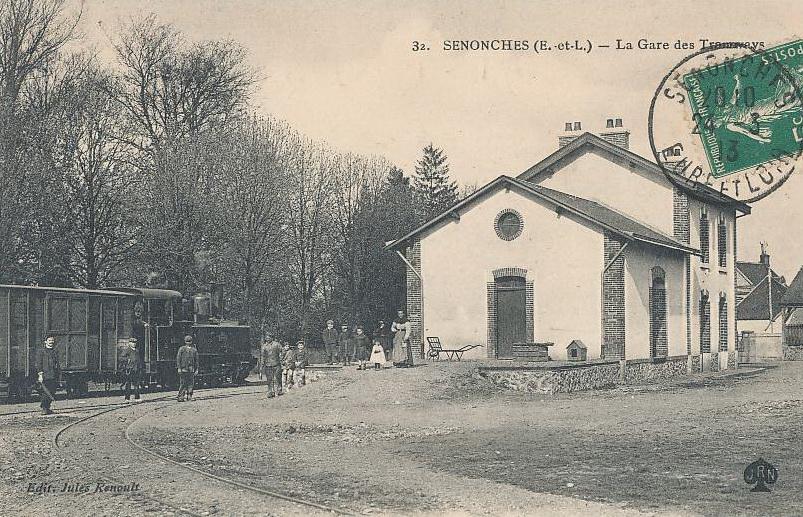 Photos gare de tramway ligne dreux senonches crgpg for La pomme de pin senonches