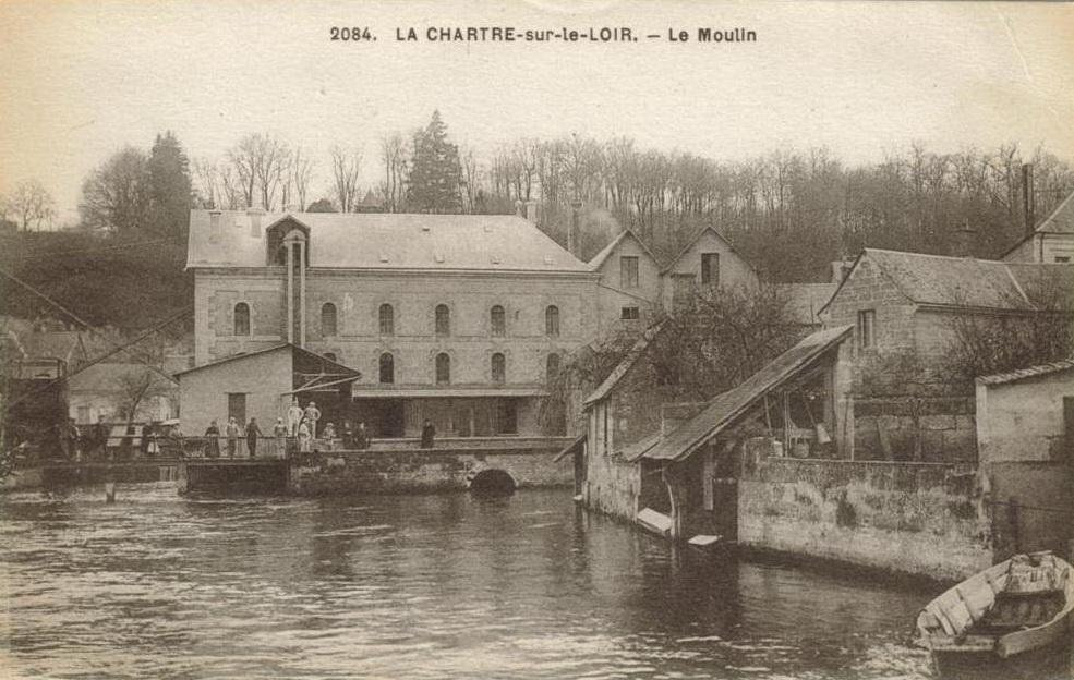 La chartre sur le loir moulin de la chartre sur le loir crgpg - La chartre sur le loire ...